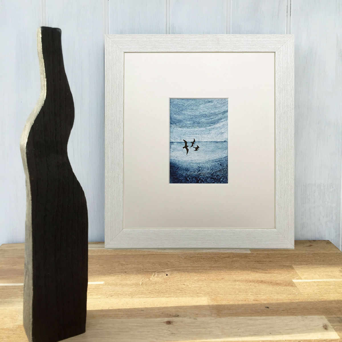 'Out of the Blue' series - Collagraph (2) - product images  of