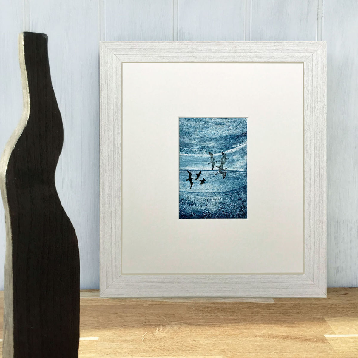 'Out of the Blue' series - Collagraph (4) - product images  of