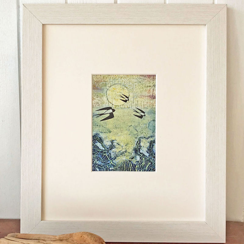 April - Collagraph  - product images  of