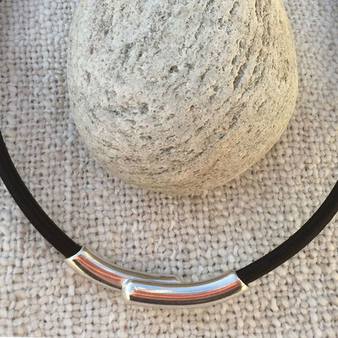 Island,Collection,-,Black,textile,necklace,Skye, Isle of Skye, jewellery, necklace, denise huddleston, isle of skye jewellery, black necklace