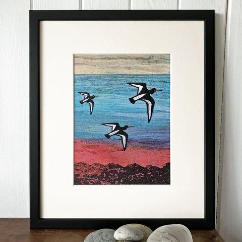 Take,Off,-,Limited,Edition,Giclee,Print,giclee print,art print,cuckoo tree studio,denise huddleston,isle of skye, scottish art,wildlife art, eagle, birds, isle of skye art