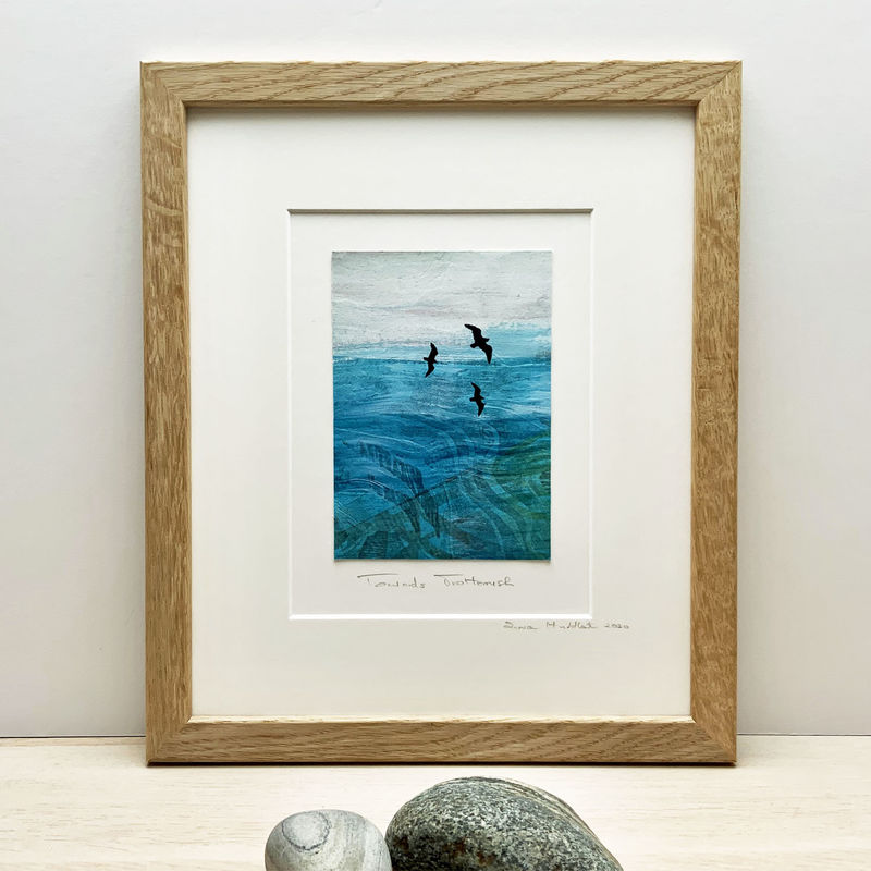 Towards Skye - Collagraph  - product images  of