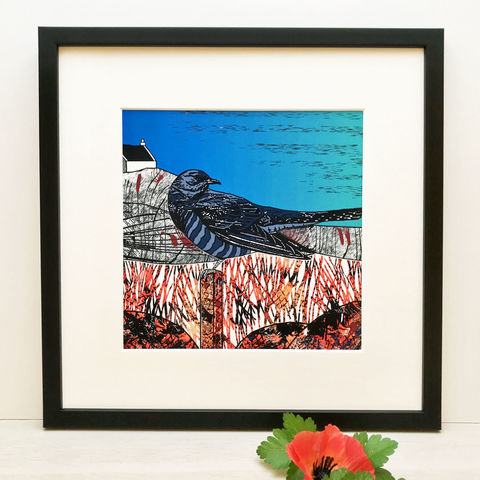 CUCKOO,-,Limited,Edition,Giclee,Print,giclee print,art print,cuckoo,cuckoo tree studio,denise huddleston,isle of skye, scottish art,skye art