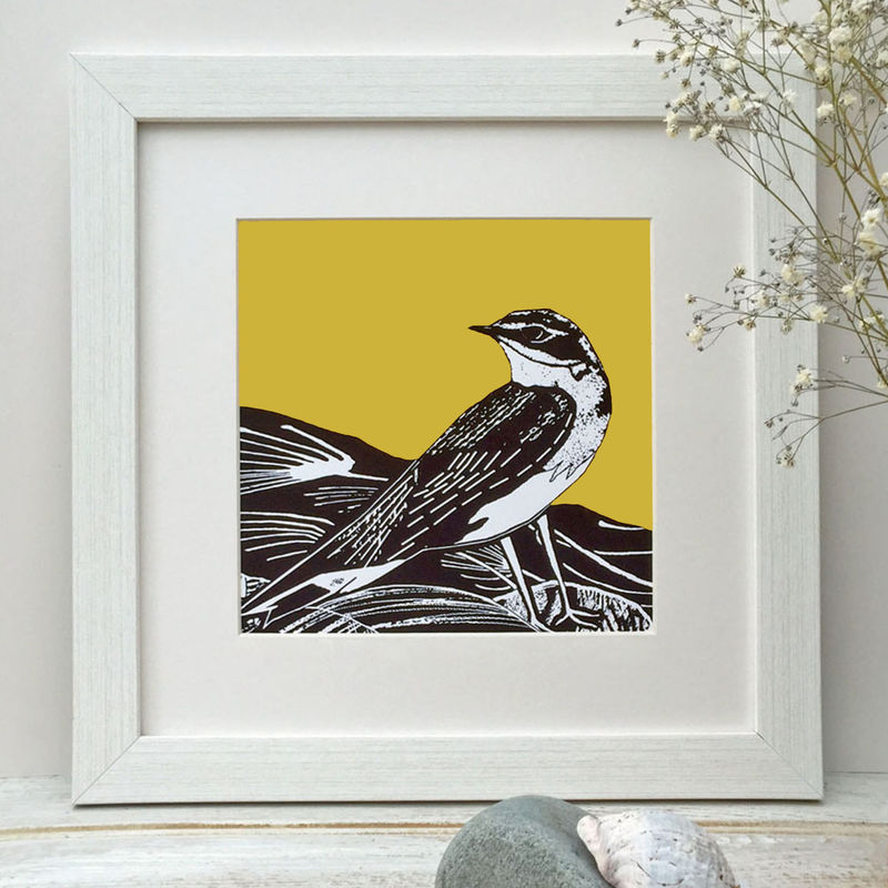 SUMMER VISITOR - vintage yellow - Limited Edition Giclee Print - product images  of