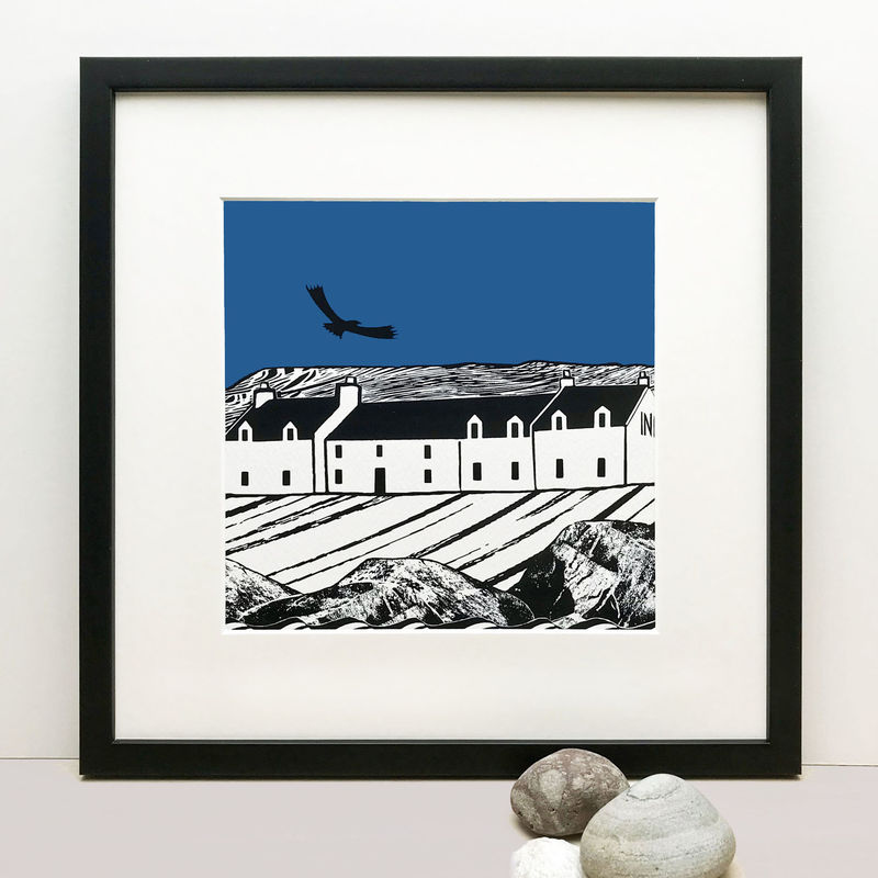 ISLAND INN (blue) - Limited Edition Giclee Print - product images  of