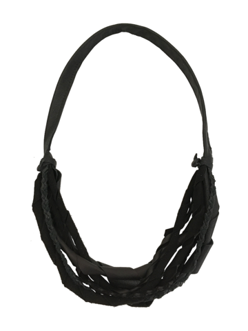 Leather,strap,necklace,,multi,strand,in,black,goatskin,black necklace,black leather necklace,leather necklace,women necklaces,non metal jewelry,leather jewelry,multistrand necklace,multi strand necklace,multi-strand necklace,dark leather necklace,layered necklace,strap necklace,leather strap necklace,dark fas
