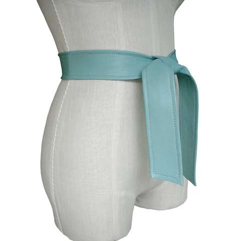 Wardrobe,essential,lambskin,belt,,powder,blue,pastel blue leather belt,belts for coats,coat belt,replacement coat belt,belts without buckles,soft leather belt,blue leather sash belt,leather sash belt,soft blue leather belt,minimalist fashion,fashion accessories,cool belts,wardrobe essentials,basic wa