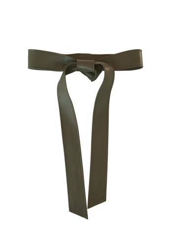Wardrobe,essential,lambskin,belt,,olive,green,lambskin belt,green belt,olive green leather belt,olive belt,belts for coats,coat belt,replacement coat belt,belts without buckles,soft leather belt,pink leather sash belt,leather sash belt,soft pink leather belt,minimalist fashion,fashion accessories,coo