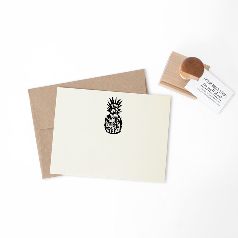 Pineapple Stamp - product images  of