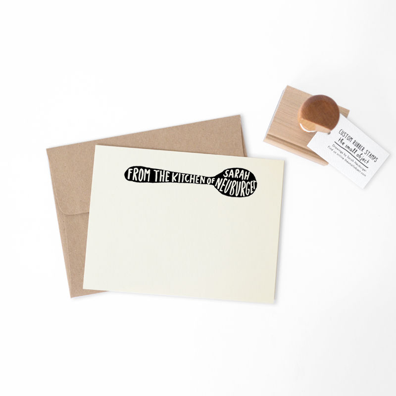 Kitchen Spoon Stamp - product images  of