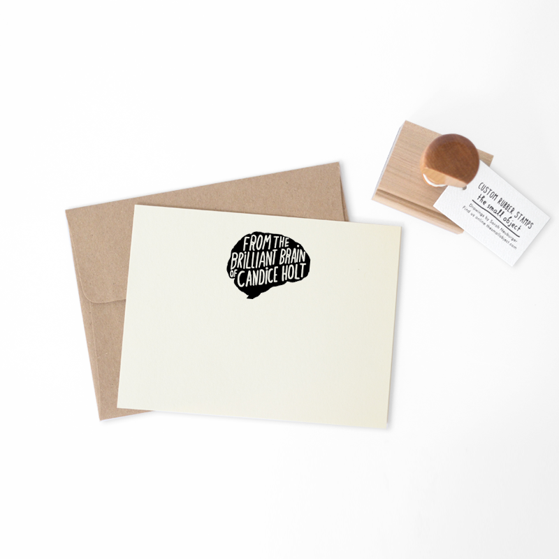 Brilliant Brain Stamp - product images  of
