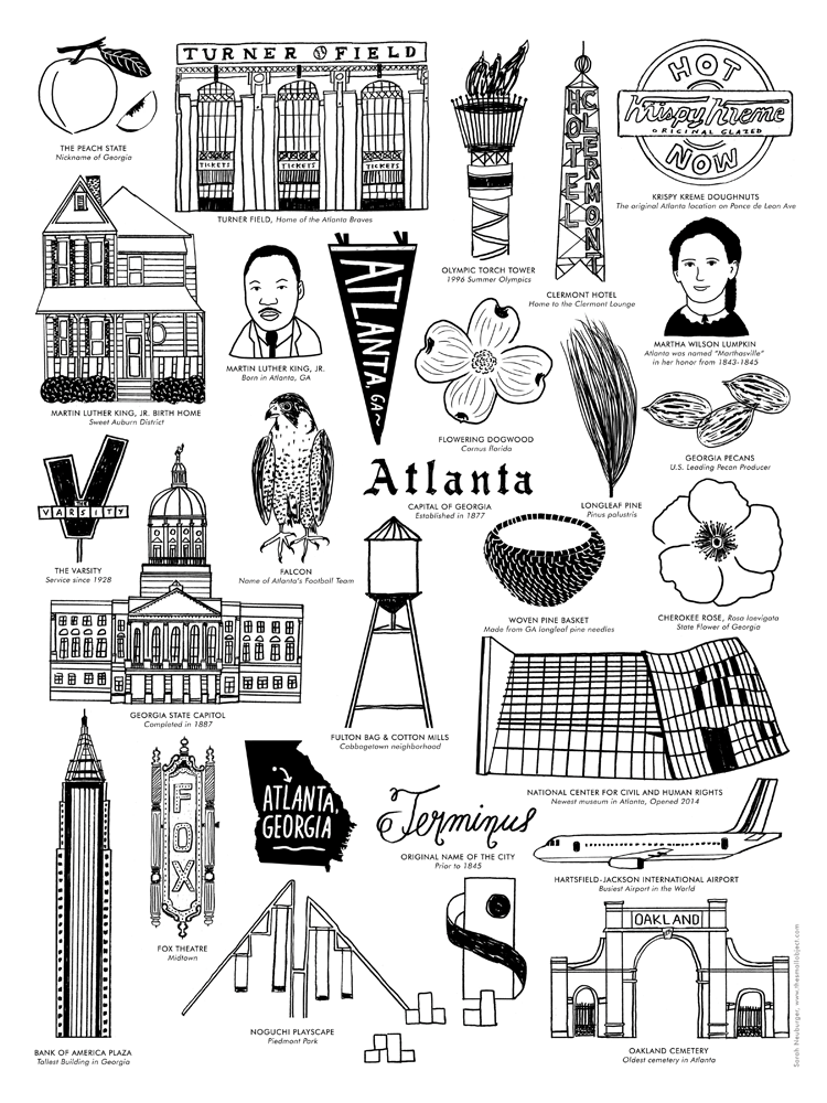 Atlanta Landmarks - product images  of