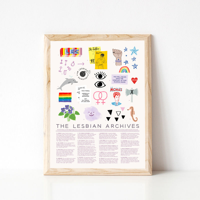 The Lesbian Archives - product images  of