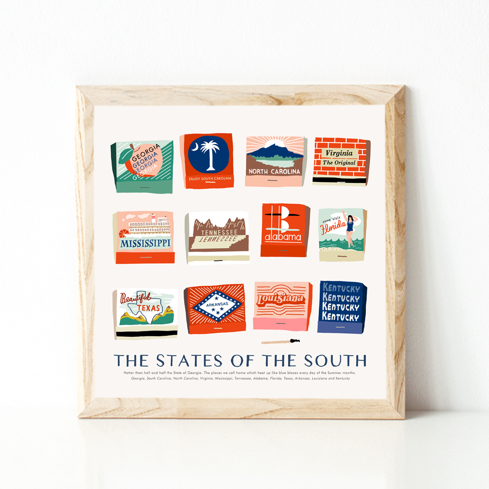 The States of the South - product images  of