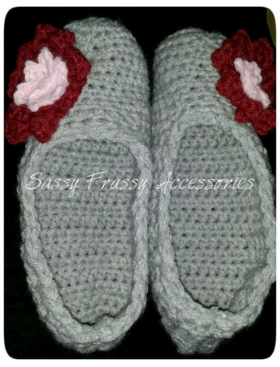 Crocheted Slippers - product image
