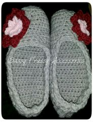 Crocheted,Slippers