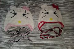 Kittie,Knit,Hats