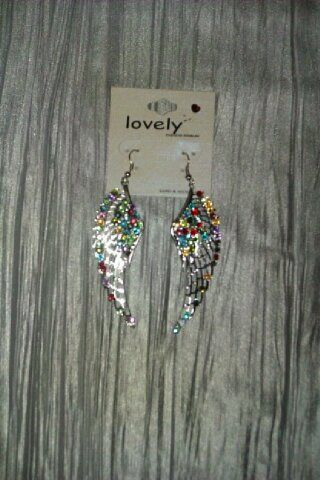 Angel Wing Ear Rings - product image
