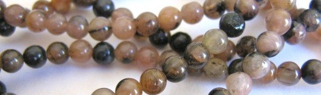 Andalusite Gemstone Beads