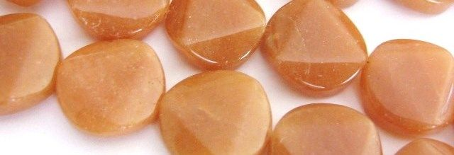 Red Aventurine Gemstone Beads