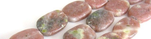 Pink Lepidolite Gemstone Beads