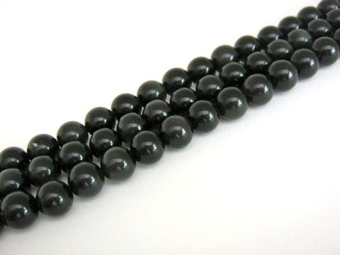 Black,Obsidian,4mm,Round,Gemstone,Beads,beads, supplies, 4mm_round, black_gemstone, gemstone_bead, obsidian_beads, black_beads, round_gemstone, round_obsidian, round_beads, black_round_beads, 4mm_beads, craft_supplies, Beads2string, bead_store