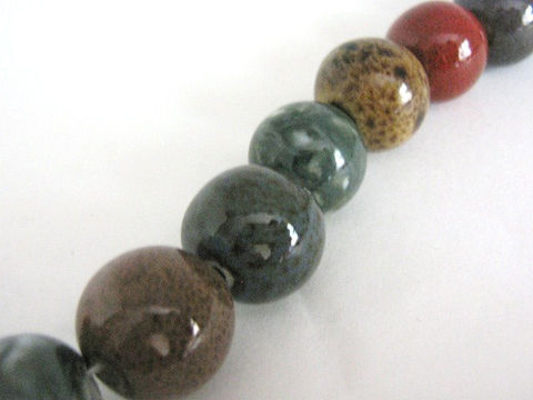 Assorted,Green,Brown,Red,16mm,Round,Porcelain,Beads,supplies,beads,Ceramic_beads,porcelain_beads,16mm_round_beads,round_porcelain_beads,pottery_beads,Beads2string,assorted_porcelain,16mm_porcelain_bead,porcelain beads,bead_store