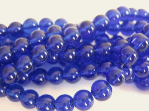 Transparent,Cobalt,Blue,6mm,Round,Glass,Beads,supplies, Bead, glass_beads, cobalt_blue_beads, blue_beads, 6mm_round_beads, round_beads, round_glass_beads, bead store, transparent_blue_beads, Beads2string, bead_supplies, craft_beads, jewelry_making_supplies