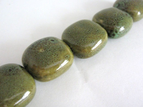 Honey,Green,Brown,30mm,Square,Porcelain,Beads,supplies,beads,porcelain_beads,brown_green_beads,spotted,square_beads,square_porcelain_beads,pottery_beads,ceramic_beads,30mm_square_beads,Beads2string,bead_store,online_craft_store,bead_supplies