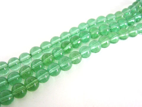 Transparent,Green,7mm,Round,Glass,Beads,beads,green_glass_beads,green_beads,round_glass_beads,green_round_beads,7mm_beads,7mm_round_glass_beads,round_beads,Beads2string, bead store, bead supplies, online_craft_store, jewelry supplies