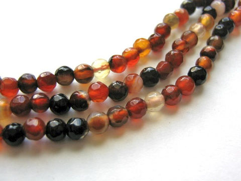 Red,Black,Agate,Beads,4.5mm,Faceted,Round,Gemstone,red_agate_beads,round_agate,faceted_round_agate,round_red_agate,4mm_faceted_round_beads,round_gemstone,red_round_beads,agate_beads,natural_agate,red_gemstone,jewelry_making, bead store, bead supplies, craft beads, Beads2string,online_bead_store,online_cra