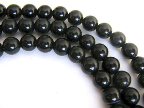 Black,Agate,6mm,Round,Beads,Gemstone,Bead, agate beads,black agate,6mm round beads,half_strand,round agate beads,Beads2string,craft supplies, bead supplies, black agate gemstone beads, 6mm black agate beads