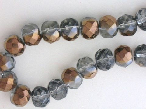 Copper,Clear,6x8mm,Faceted,Rondelle,Glass,Beads,Supplies,Bead,Glass_bead,faceted_rondelle_bead,clear_copper_bead,two_tone_beads,rondelle_beads,clear_rondelle,8x6mm_rondelle_bead,rondelle_glass_beads,jewelry_making_bead,bead_supplies,Beads2string,8mmm_rondelle_bead,clear_rondelle_bead,copper_rondelle_be