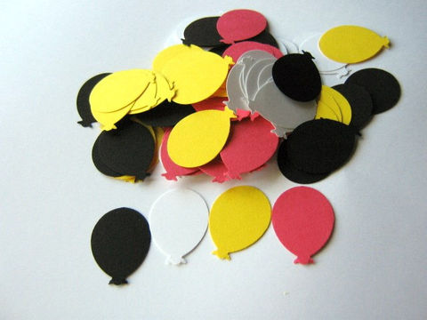 Paper,Balloon,Cut,Outs,1,1/8,x,3/4,Inch,Yellow,White,Red,Black,Die,Cuts,Supplies,Scrapbooking,paper_goods,Die_Cut,paper_balloon,balloon_die_cut,cut_outs,balloon_cut_outs,balloon_punches,cardstock_balloon,yellow_red_balloons,white_black_balloons,embellishment,card_making_supplies,balloon_punch_out,birthday_balloon_die_cut,ball