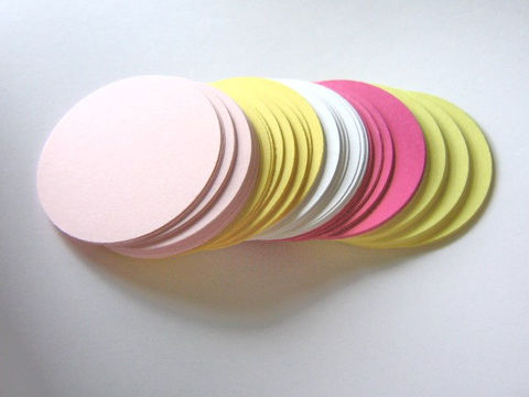 Circle,Die,Cut,Outs,2,Inch,Round,Pink,White,Yellow,Paper,Supplies,Scrapbooking,Die_Cut,cut_outs,circle_cut_outs,2_inch_circle_cut_outs,2_inch_circle,circle_die_cut,die_cut_cardstock,paper_die_cut_circle,circle_punch_outs,pink_white_yellow,card_making_supplies,card_die_cuts,cupcake_supplies,scrapbook_circle,pink