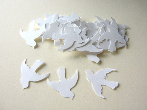 White,Dove,Confetti,1,Inch,Bird,Die,Cut,Wedding,Party,Decor,Paper_Goods, supplies, white_dove_confetti, dove_confetti, dove_die_cuts, 1_inch_dove, bird_die_cuts, wedding_confetti, wedding_doves, table_confetti, party_confetti, dove_embellishment, handmade_die_cut, Beads2string, craft_store