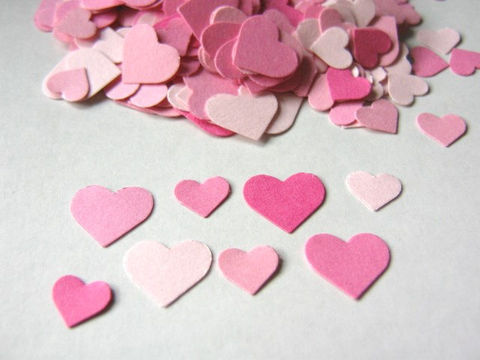 Pink,Confetti,Heart,Die,Cut,Cardstock,Paper,Wedding,Table,Scatter,Supplies, Scrapbooking, Die_Cut, paper_confetti, pink_heart_confetti, heart_confetti, pink_paper_hearts, wedding_confetti, table_decor_confetti, pink_confetti, party_confetti, paper_hearts, paper_heart_confetti, heart_die_cuts, Beads2string, handmade_die_
