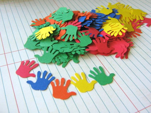 Hand,Print,Die,Cut,7/8,Inch,Paper,Red,Blue,Yellow,Orange,Green,Paper_Goods, supplies, hand_print_confetti, hand_die_cut, party_decoration, hand_cut_outs, hand_print_cut_outs, red_blue_yellow, green_orange, primary_color_hand, Table_Confetti, scrapbook_die_cuts, die_cut_confetti, envelope_confetti, handprint_die_cut,