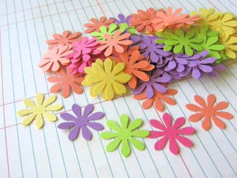 Confetti,1,Inch,Flower,Cut,Outs,Paper,Yellow,Purple,Orange,Green,Pink,Die,Cuts,Supplies,diecuts,cut_outs,Paper_goods,Scrapbooking,Die_Cut,flower_confetti,flower_cut_outs,1_inch_flower_cut_outs,1_inch_flower_die_cut,flower_die_cuts,yellow_purple_pink,green_orange,die_cuts_paper,party_decoration,table_confetti,paper_flower_die_cut,pap