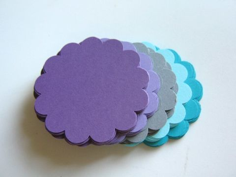 Scallop,Circle,Die,Cut,2.5,Inch,Cardstock,Purple,Gray,Blue,supplies, paper_goods, die_cuts, handmade_die_cut, scallop_circle, circle_cut_outs, scallop_circle_die_cut, circle_die_cut, purple_scallop_circle_die_cut, blue_scallop_circle_die_cut, Beads2string, craft_supply_store, paper_die_cuts