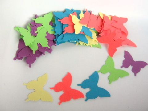 Butterfly,Die,Cut,Blue,Purple,Green,Pink,Yellow,Cardstock,Paper,supplies, paper_goods, scrapbooking, die_cuts, cut_outs, butterfly_die_cuts, butterfly_cut_outs, paper_butterfly, scrapbook_butterfly, cake_topper_cut_outs, beads2string, craft_store, cupcake_supplies