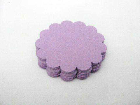 Purple,Scallop,Circle,Cut,Out,2.5,Inch,Round,Die,Cuts,Cardstock,Paper,supplies, paper_goods, scrapbooking, die_cuts, cut_outs, circle_cut_outs, scallop_circle_cut_outs, 2.5_inch_circle_die_cut, purple_circle_cut_outs, circle_die_cuts, scallop_circle_die_cuts, beads2string, scrapbook_circle, craft_store