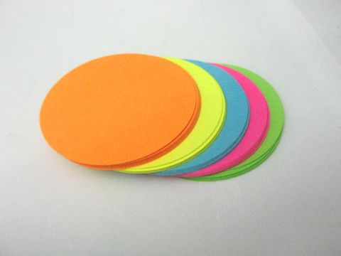 Cardstock,Neon,Circle,Cut,Outs,2.5,Inch,Round,Die,Orange,Yellow,Blue,Green,Pink,supplies, paper_goods, scrapbooking, die_cuts, cut_outs, circle_cut_outs, cardstock_cut_outs, cardstock_circle_cut_outs, neon_circle_cut_outs, neon_circle_die_cuts, 2.5_inch_circle_cut_out_cardstock, beads2string, craft_store