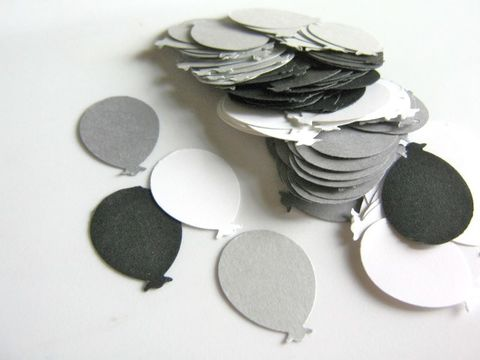 Balloon,Die,Cut,Black,White,Gray,Over,the,Hill,Cardstock,Paper,supplies, paper_goods, scrapbooking, paper_balloons, die_cut_balloons, balloon_cut_outs, over_the_hill_cut_outs, scrapbook_balloon, handmade_die_cuts, handmade_cut_outs, balloons, beads2string, gray_white_black_balloon, craft_store