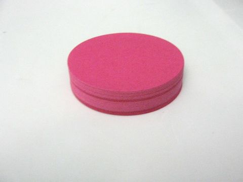 Pink,Circle,Cut,Outs,2.5,Inch,Round,Die,Cardstock,supplies, paper_goods, scrapbooking, pink_circle_cut_outs, 2.5_inch_circle_die_cuts, circle_cut_outs, circle_die_cuts, handmade_die_cuts, handmade_cut_outs, cardstock_circle, scrapbook_circles, beads2string, craft_store