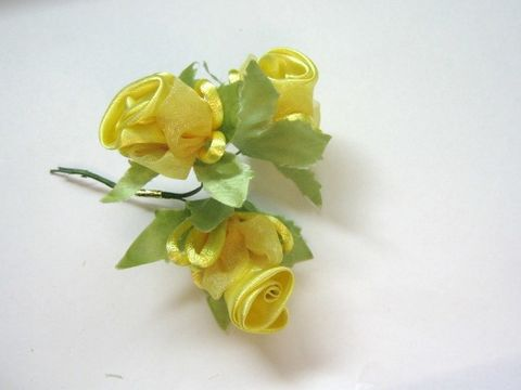 Yellow,Organza,Satin,Flower,1,inch,Rose,Bunch,Wired,Floral,Pick,supplies,floral_supply,yellow_satin_flower,floral_pick,floral_bunch,mulberry_flower_bunch,artificial_flower,artificial_flower_bunch,1_inch_yellow_flower,organza_satin_flower_bunch,yellow_rose_fabric_flower,fabric_flower,craft_store,Beads2string,millinery_