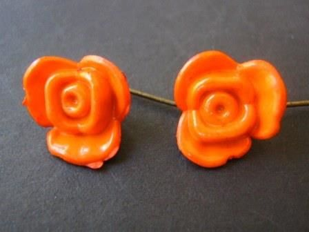 Opaque,Orange,8x15mm,Flower,Plastic,Beads,Supplies,Bead,15mm_flower_bead,flower_beads,acrylic_beads,15x8mm_flower_bead,orange_flower_bead,orange_beads,button_flower_bead,Beads2string,bead_store,craft_store,bead_supply,jewelry_supply