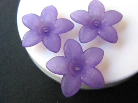 Matte,Purple,Spike,17mm,Flower,Bead,Acrylic,supplies,beads,acrylic_beads,flower_beads,spike_flower_beads,purple_flower_beads,17mm_flower_bead,purple_17mm_flower_bead,plastic_flower_beads,beads2string,bead_store,craft_store,purple_beads,bead_supply,jewelry_supply