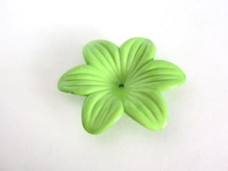 Opaque,Green,48mm,Lily,Flower,Acrylic,Beads,supplies,beads,green_flower_bead,plastic_flower_bead,acrylic_flower_bead,48mm_flower,plastic_beads,green_beads,acrylic_beads,flower_beads,Beads2string,green_flower_beads,bead_store,craft_store,bead_supply,jewelry_supply