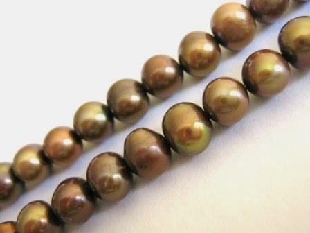 Copper,Brown,7mm,Potato,Freshwater,Pearl,Beads,supplies,beads,pearls,freshwater_pearl_beads,pearl_beads,brown_beads,brown_pearl_beads,brown_freshwater_pearl,potato_freshwater_pearl_beads,oval_pearl_beads,beads2string,bead_store,jewelry_supply,bead_supply